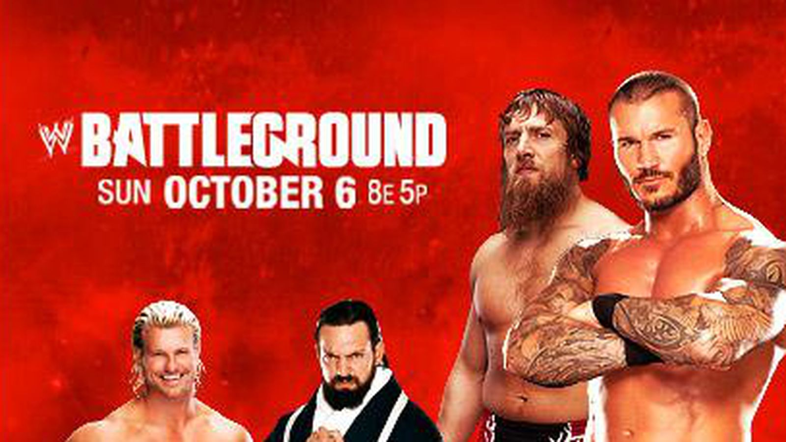 wwe battleground match card previews featuring randy