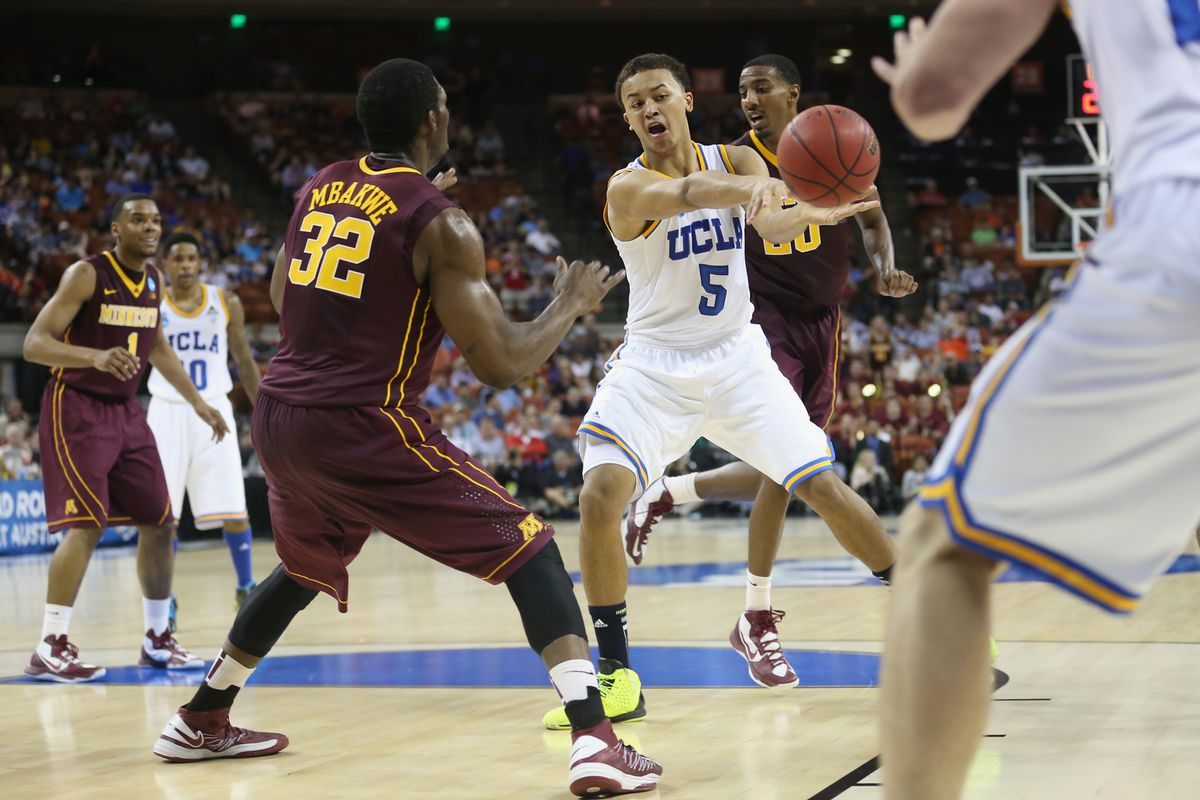 According to one recruit's Dad this is UCLA's point guard for one more year, than nothing.