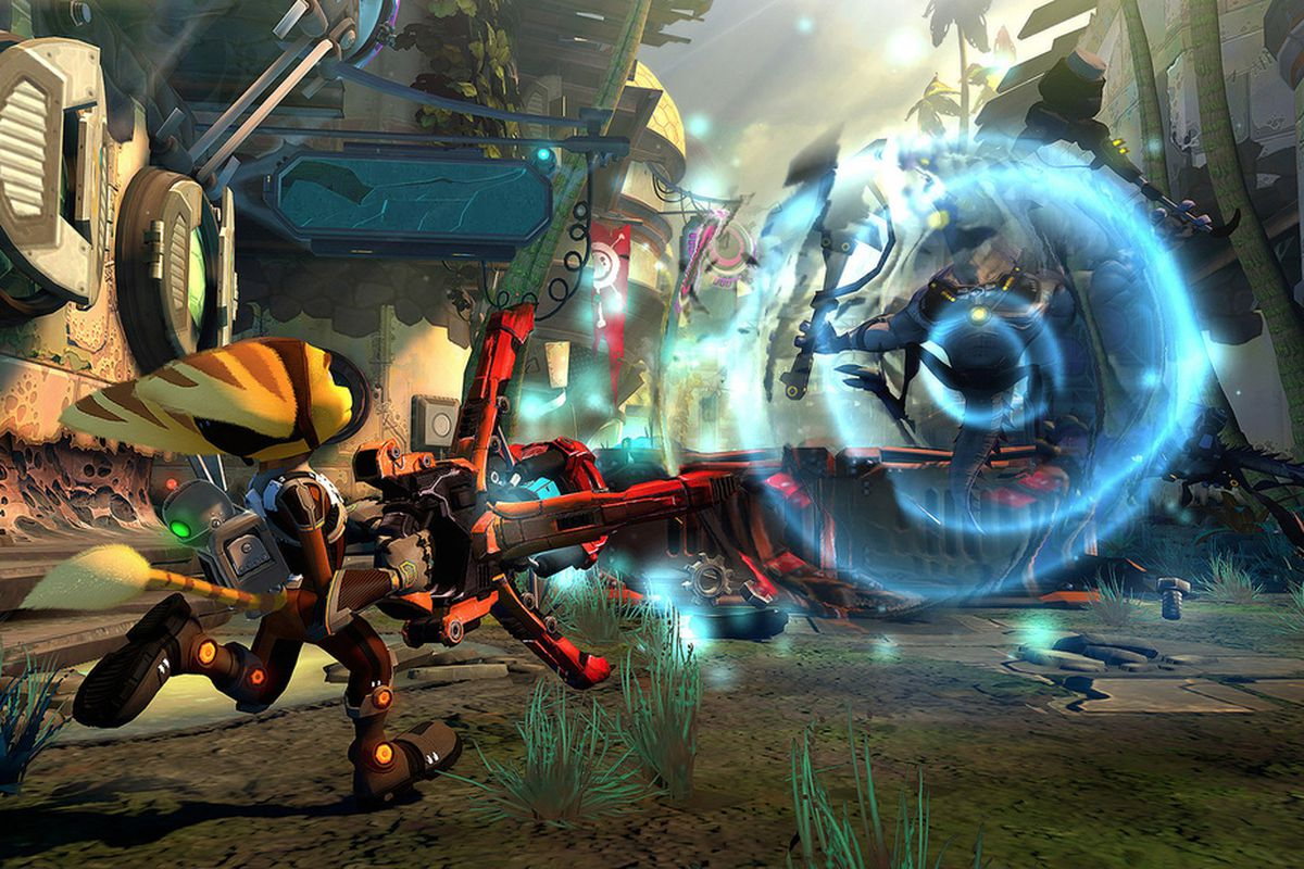 A New Ratchet Clank Is Coming To Ps3 This Holiday Polygon