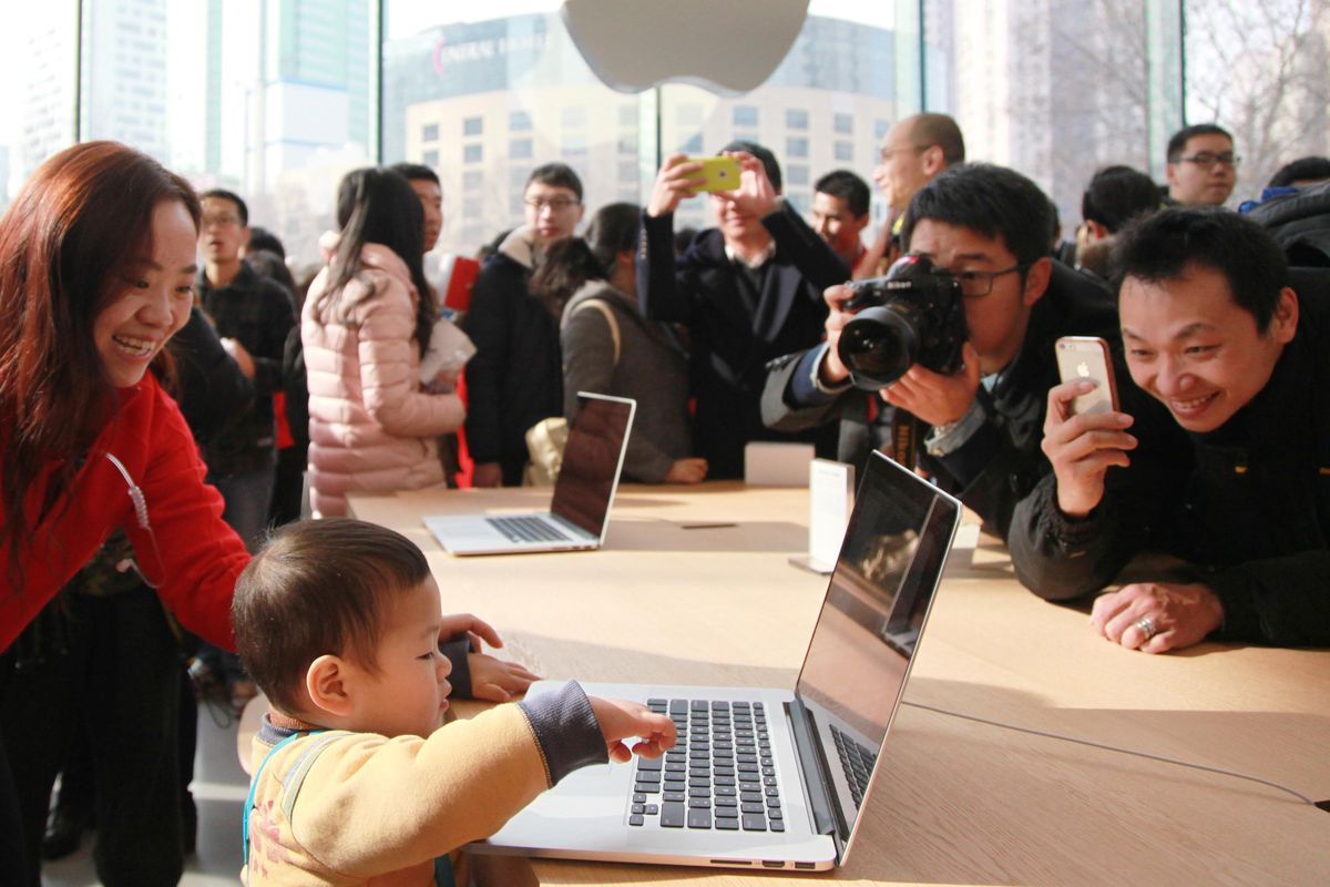 Apple is investing more in China, including an R&D center ...