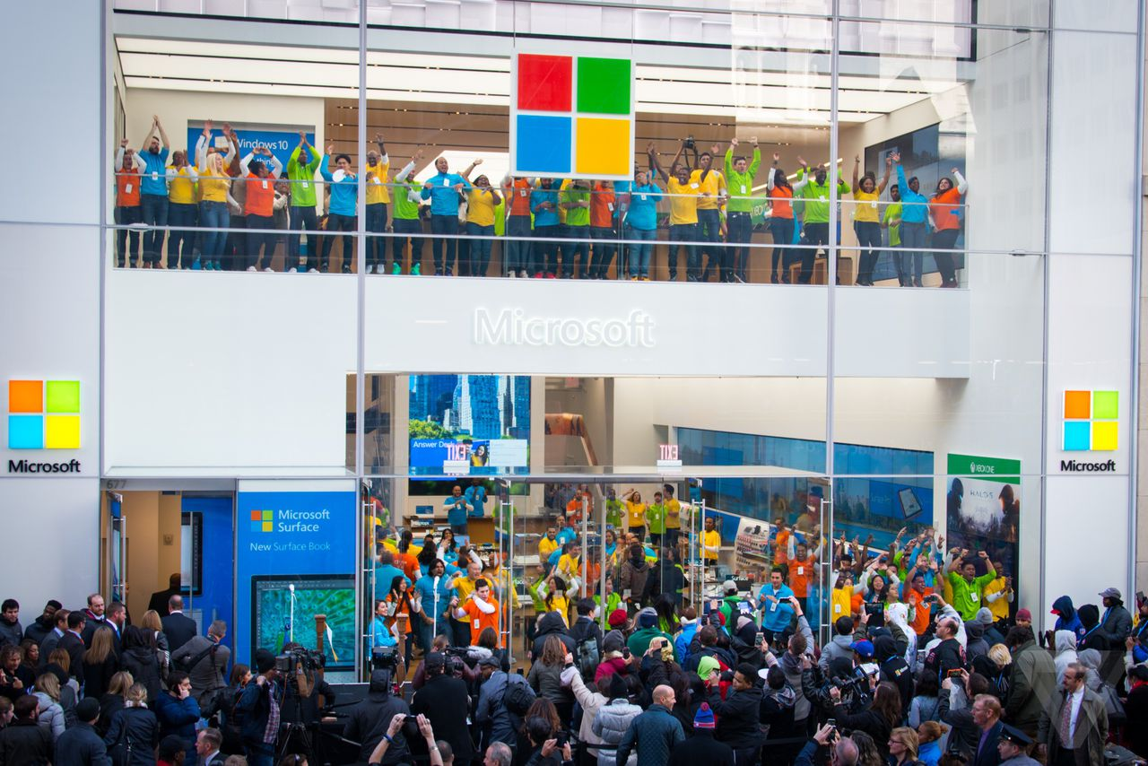 Building 92 microsoft store - Microsoft Finally Makes The Move To Fifth Avenue
