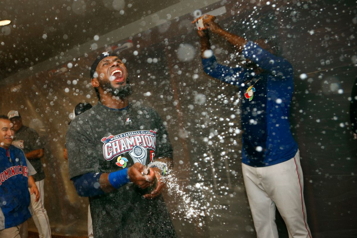 A preview of Jose at out World Series celebration.