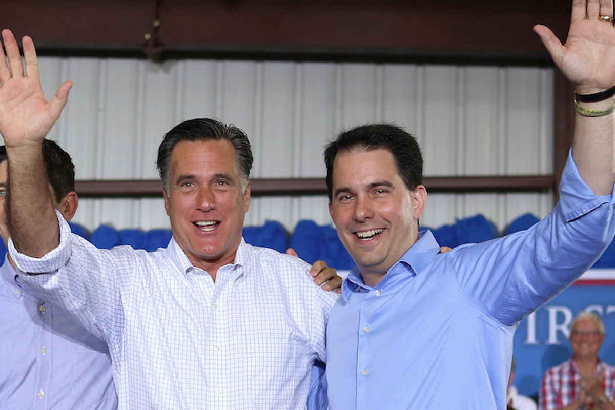 There's a reason Walker is on the right side of this picture. Get it?