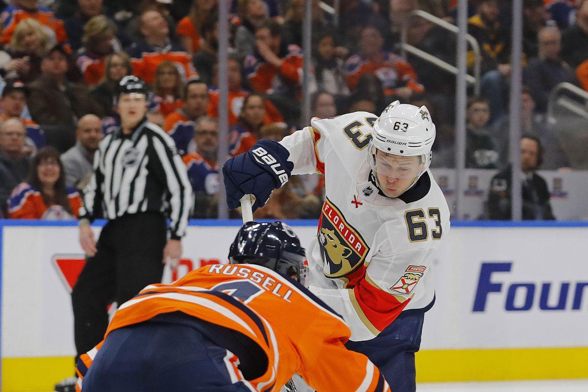 NHL: Florida Panthers at Edmonton Oilers