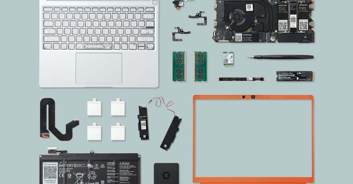 Modular Framework laptop gets a marketplace for all those modules