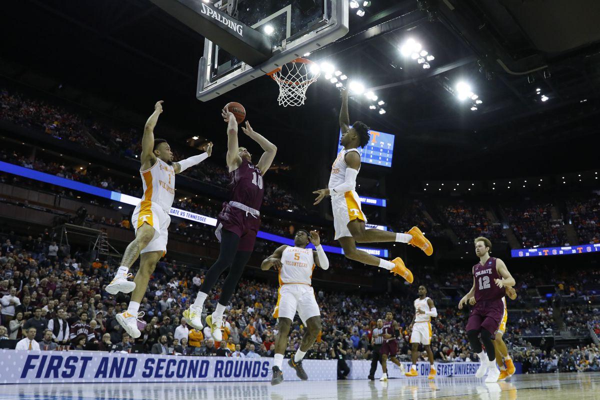 NCAA Basketball: NCAA Tournament-Colgate Raiders vs the Tennessee Volunteers