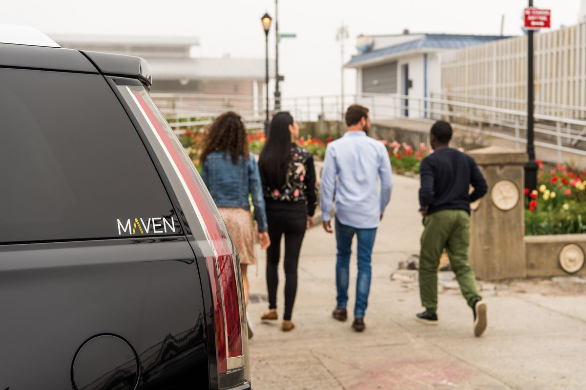 maven gm s car sharing service is launching in new york city the verge. Black Bedroom Furniture Sets. Home Design Ideas