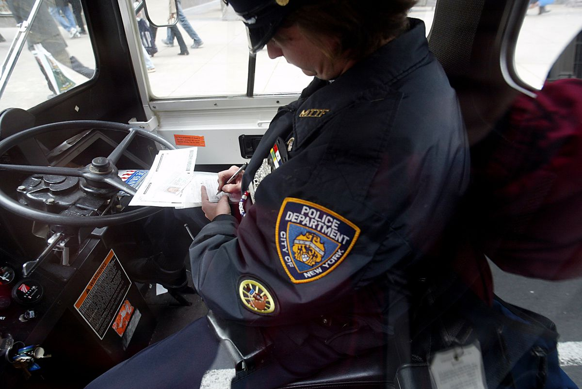 nypd parking ticket