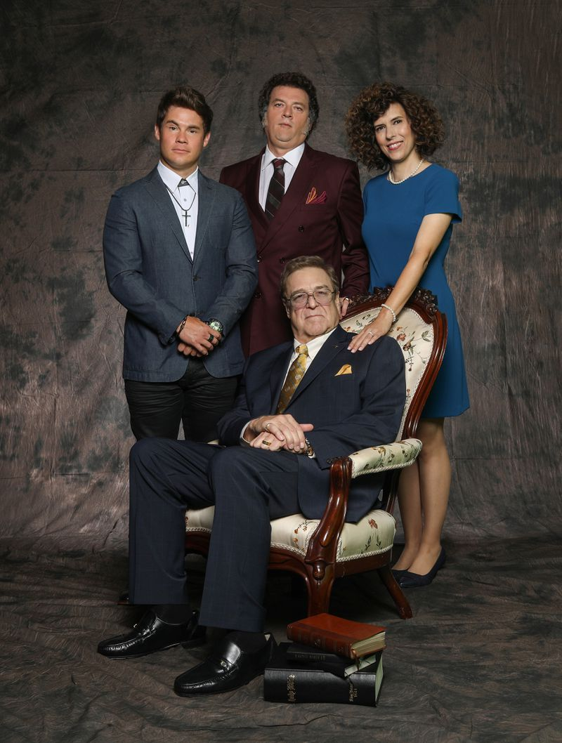The cast of The Righteous Gemstones