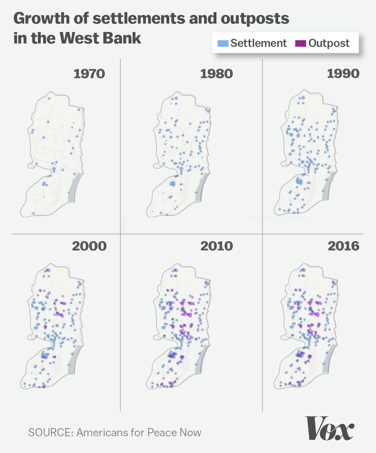 Image result for WEST BANK SETTLEMENTS INFOGRAPHIC