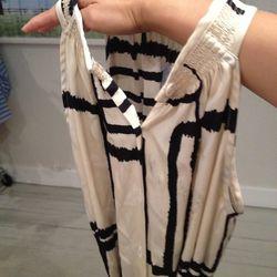 "See the misprint? ""Damaged"" dress, $35"