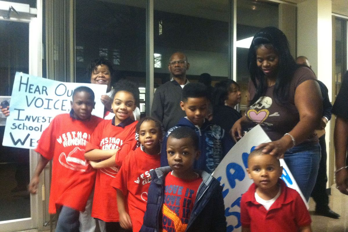Westhaven Elementary School parents and students are hopeful that their school will remain open.