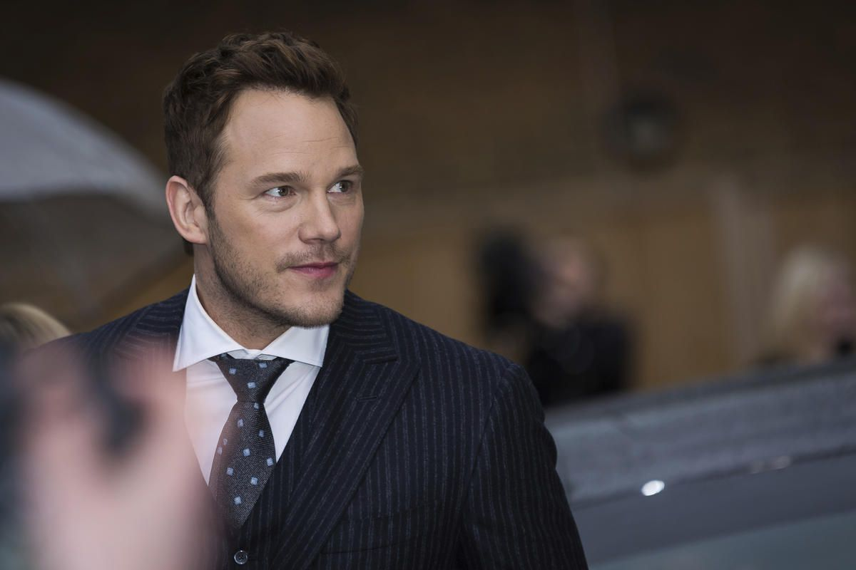 Actor Chris Pratt poses for photographers upon arrival at the premiere of the film 'Guardians of the Galaxy Vol. 2', in London, Monday, Apr. 24, 2017. (Photo by Vianney Le Caer/Invision/AP)