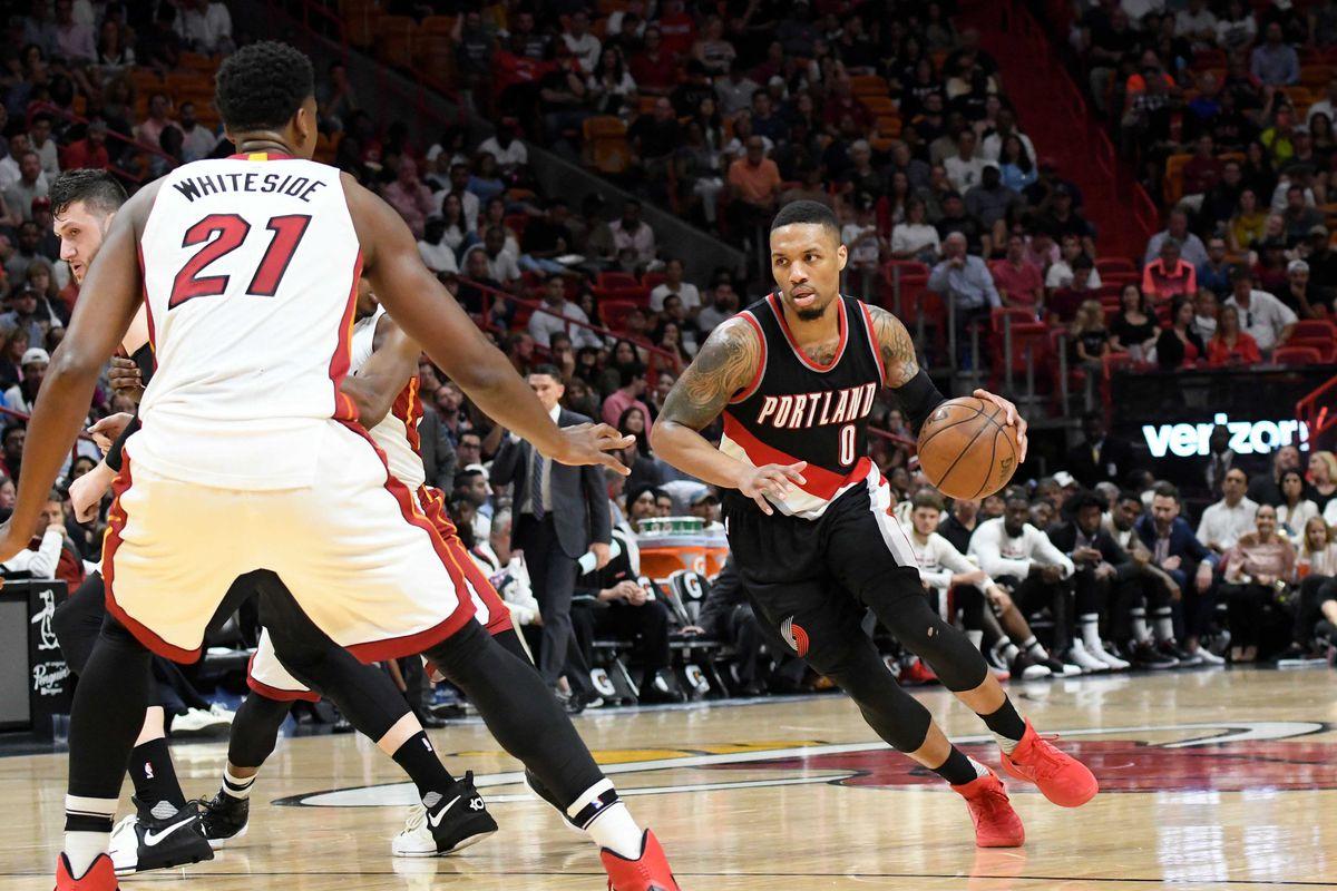 Damian Lillard exposed the Heat s biggest defensive weakness ... f53defb275