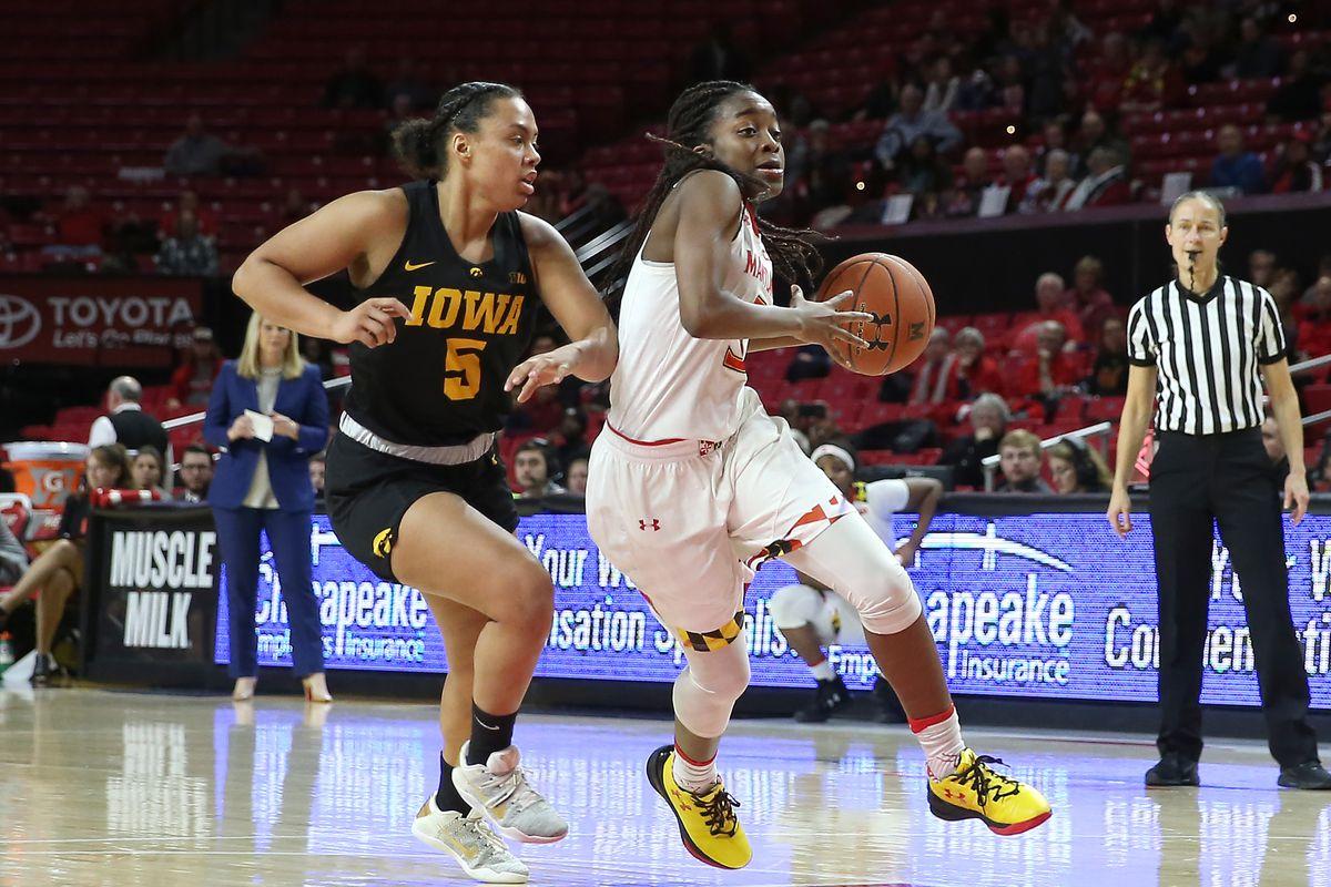 COLLEGE BASKETBALL: JAN 04 Women's - Iowa at Maryland