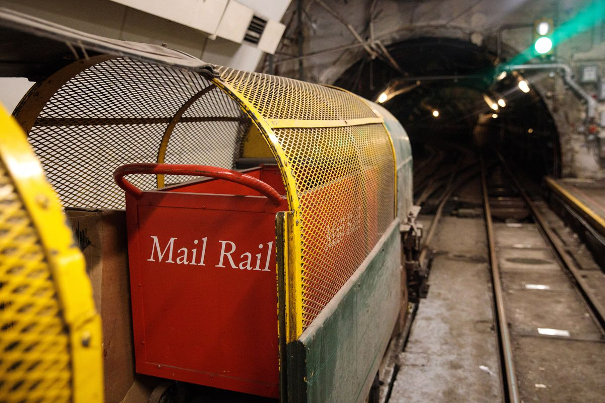 The Postal Museum Opens Featuring A Kilometre Long Train Ride Attraction