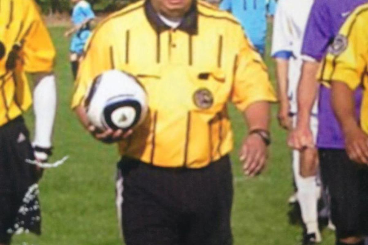 Referee Riccardo Portillo remained in extremely critical condition Thursday, May 2, 2013, after being punched in the head by a 17-year-old player during a youth soccer game. The teen was booked into a juvenile detention center for investigation of aggrava