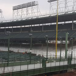 200-level seating covered, another view -