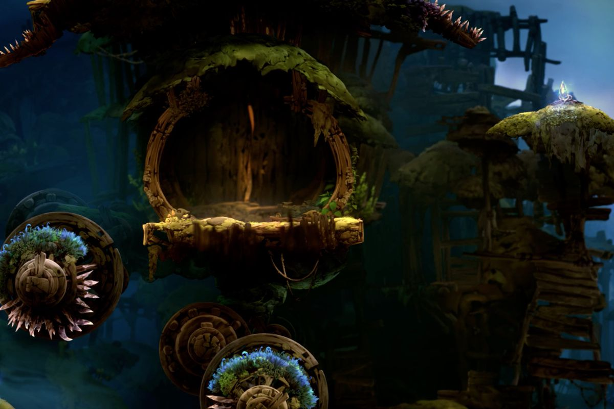 Ori and the Will of the Wisps The Wellspring map and item locations