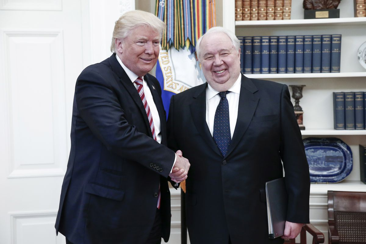 Image result for PHOTOS OF Sergey Kislyak and kushner