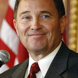 Lt. Gov. Gary Herbert  talks about the transition process on May 18, 2009, in Salt Lake City.