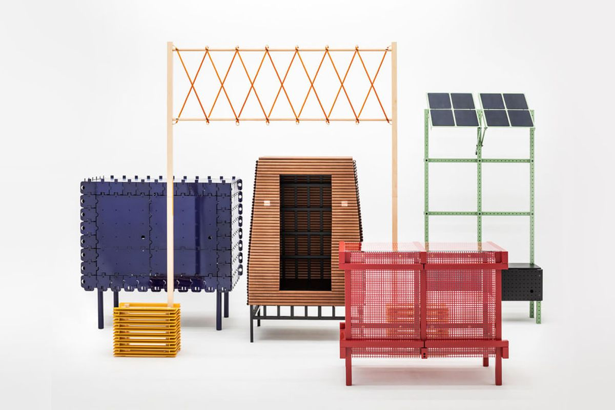 Interactive Furniture Layout Using Interior Design: This Interactive Furniture Line Runs On Solar Power