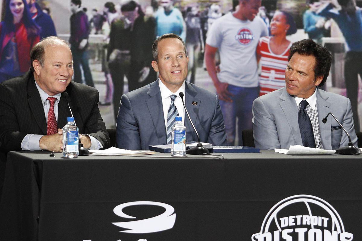 NBA: Detroit Pistons-Press Conference