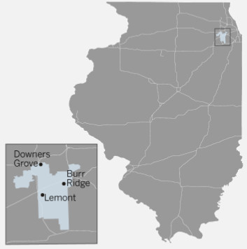 Illinois Senate 41st District map