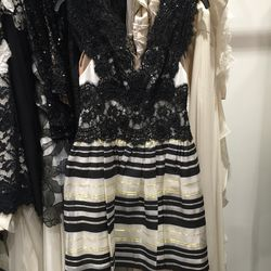 Notte cocktail dress, $195 (from $750)
