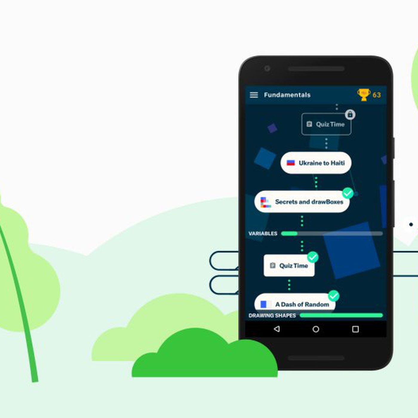 Grasshopper is an app for learning JavaScript through mini