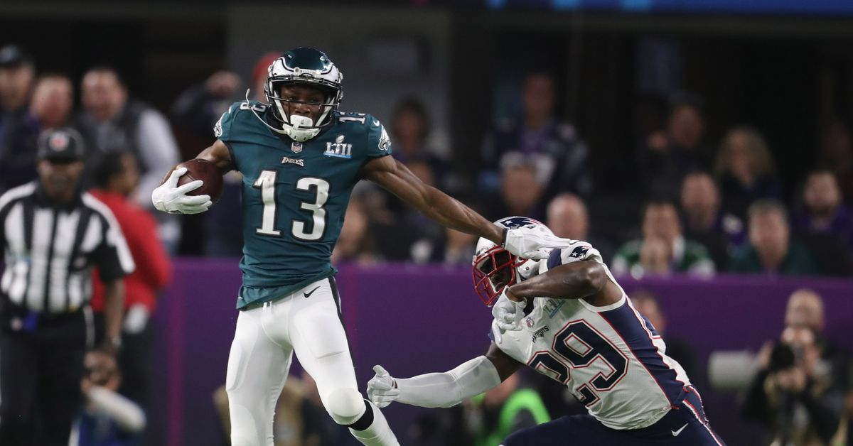 Nelson Agholor is a top 10 deep threat, according to NFL analyst