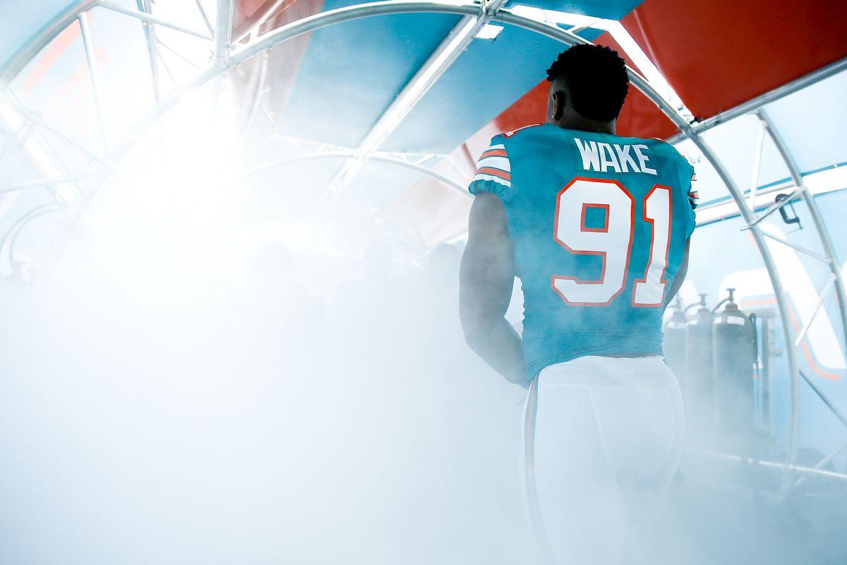 Miami Dolphins defensive Cameron Wake explains jersey number 91  VqJsHWdJ