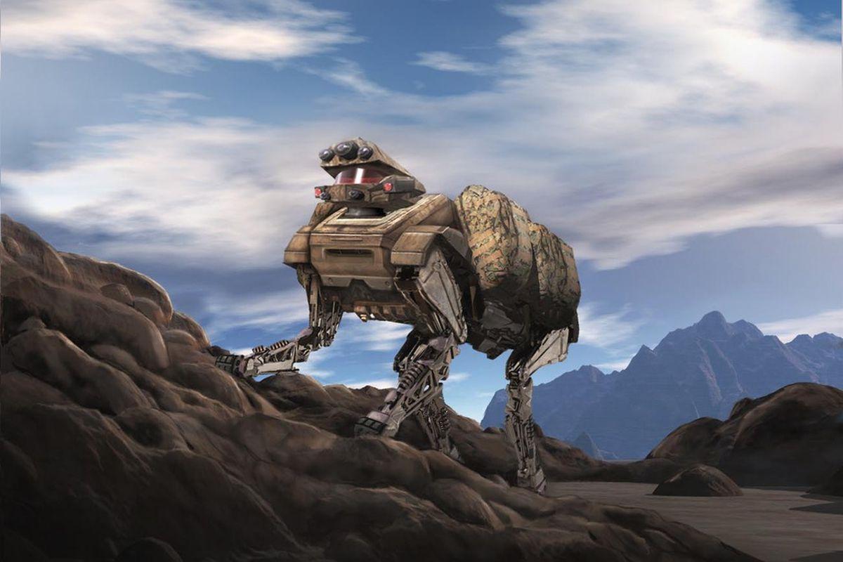 Boston Dynamics Alpha Dog