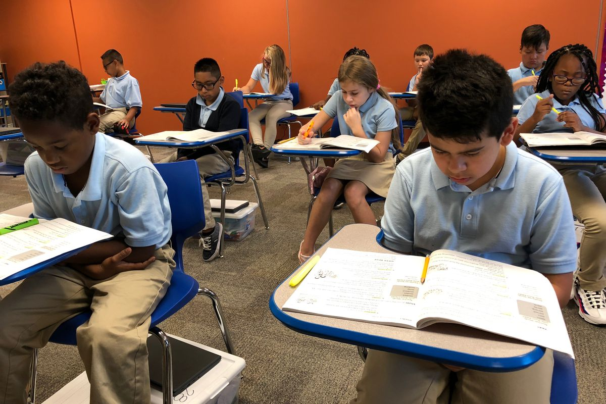 Paramount School of Excellence, an Indianapolis charter school.