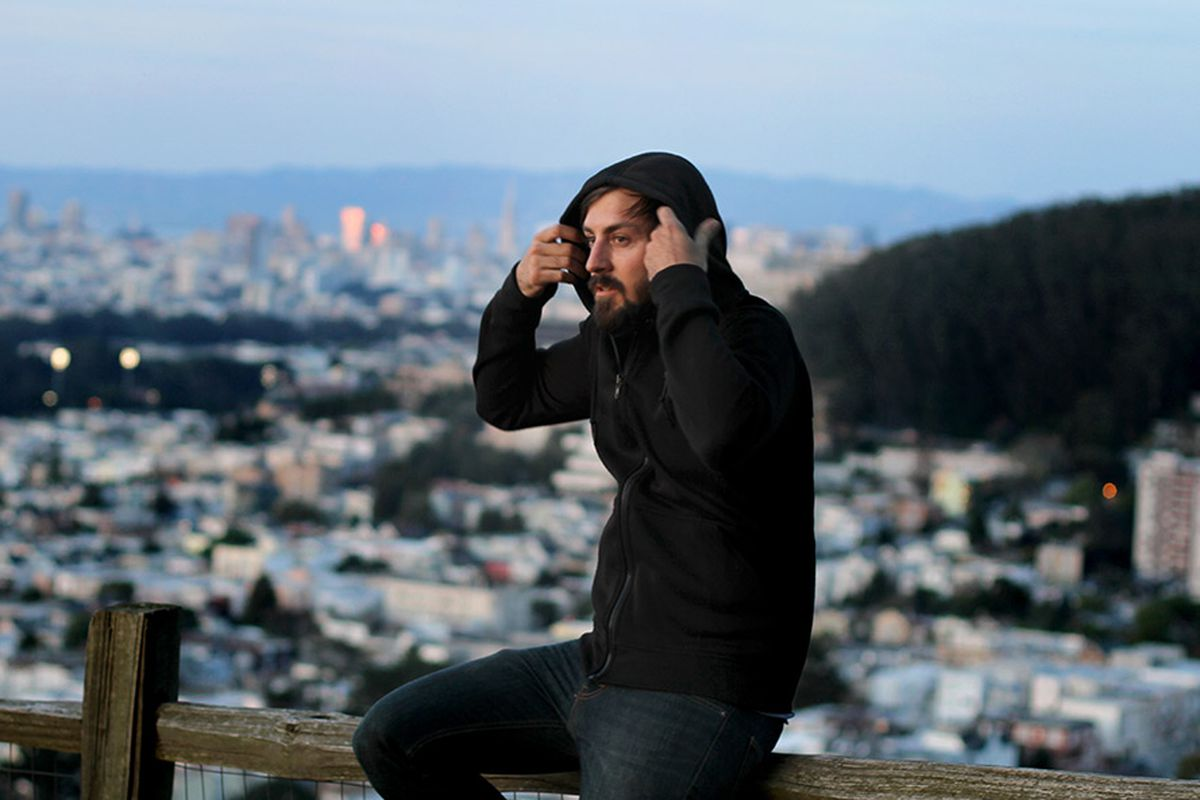 """This premium merino hoodie is made in San Francisco; photo via <a href=""""http://www.themodernindustry.com/"""">Modern Industry</a>"""