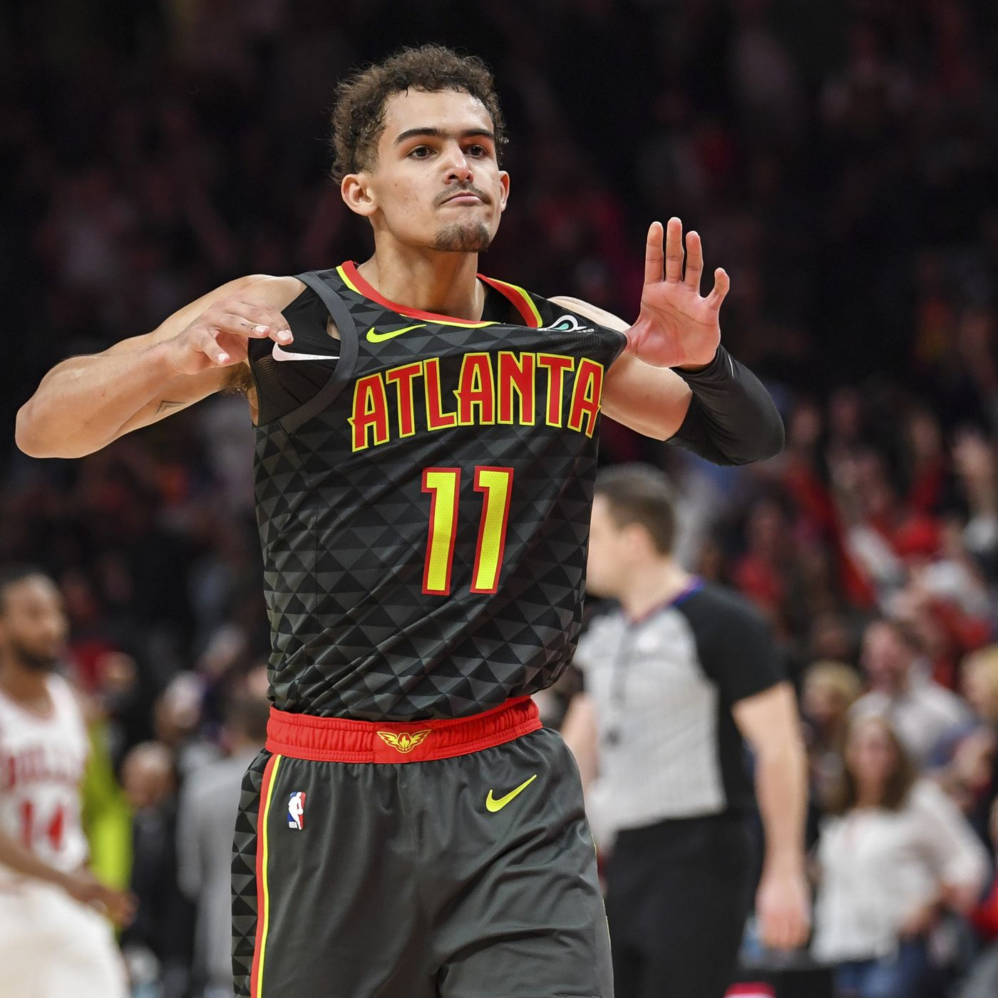 9ce2ce92c9e27f Trae Young explodes for 49 points