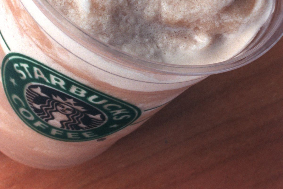 for a One Great Dish feature: — for a One Great Dish feature: A regular Frappuccino (frothy and icey)(Photo By STORMI GREENER/Star Tribune via Getty Images)