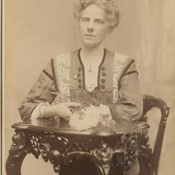 Anna Jarvis in 1912, while she was still pushing for establishment of a national Mother's Day designation. It gained traction first in West Virginia. It's officially 100 years old this year.