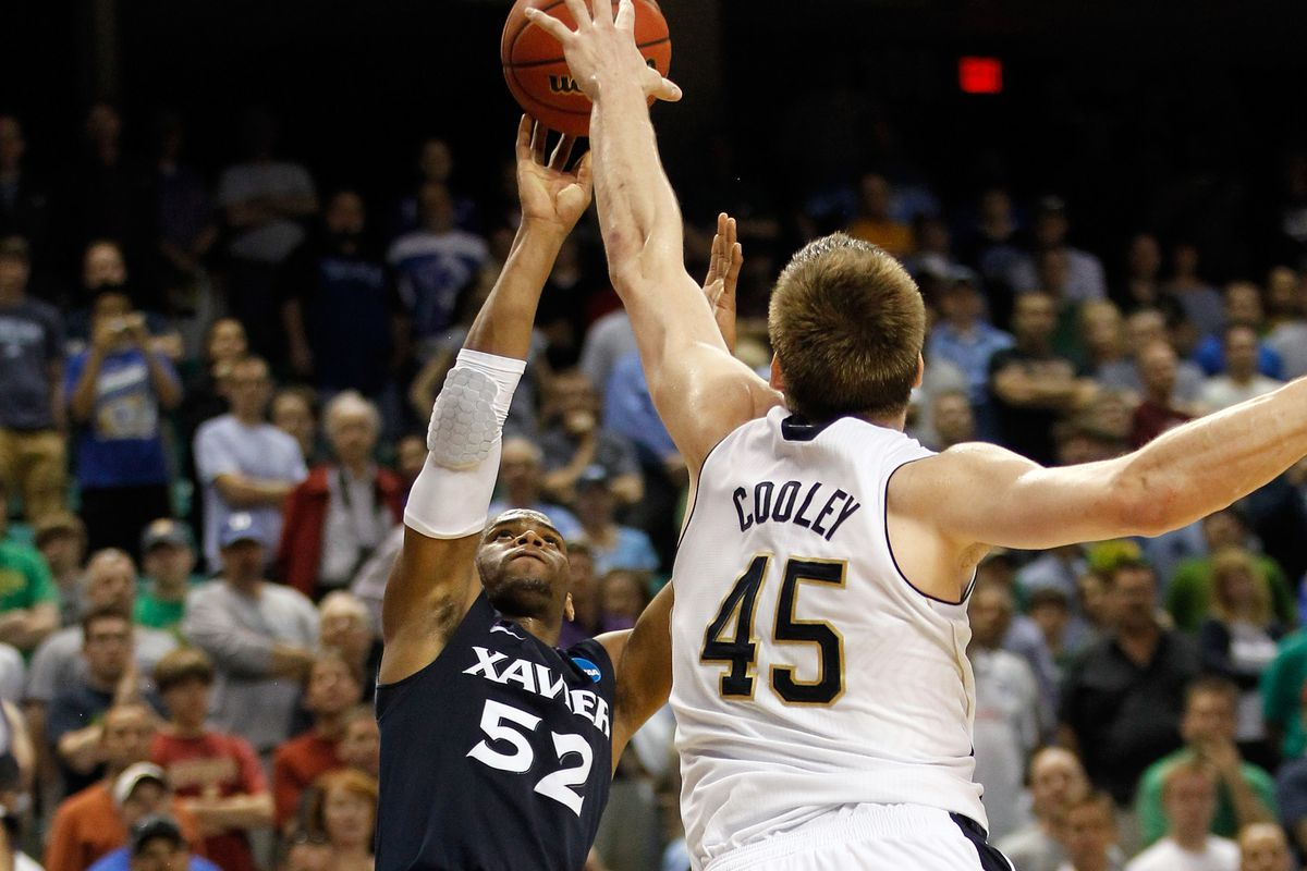 NCAA Basketball Tournament - Xavier v Notre Dame