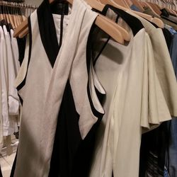 Helmut Lang Off-White Twisted Sleeveless Top, $150 (originally $370)
