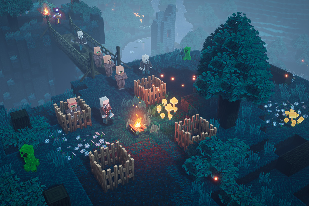 Minecraft Dungeons review: a lighter, more family-friendly take on Diablo - The Verge