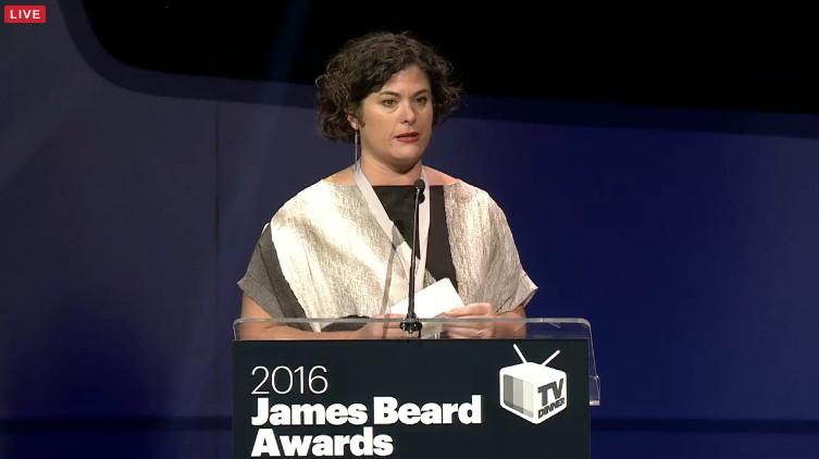 james beard award renee erickson livestream
