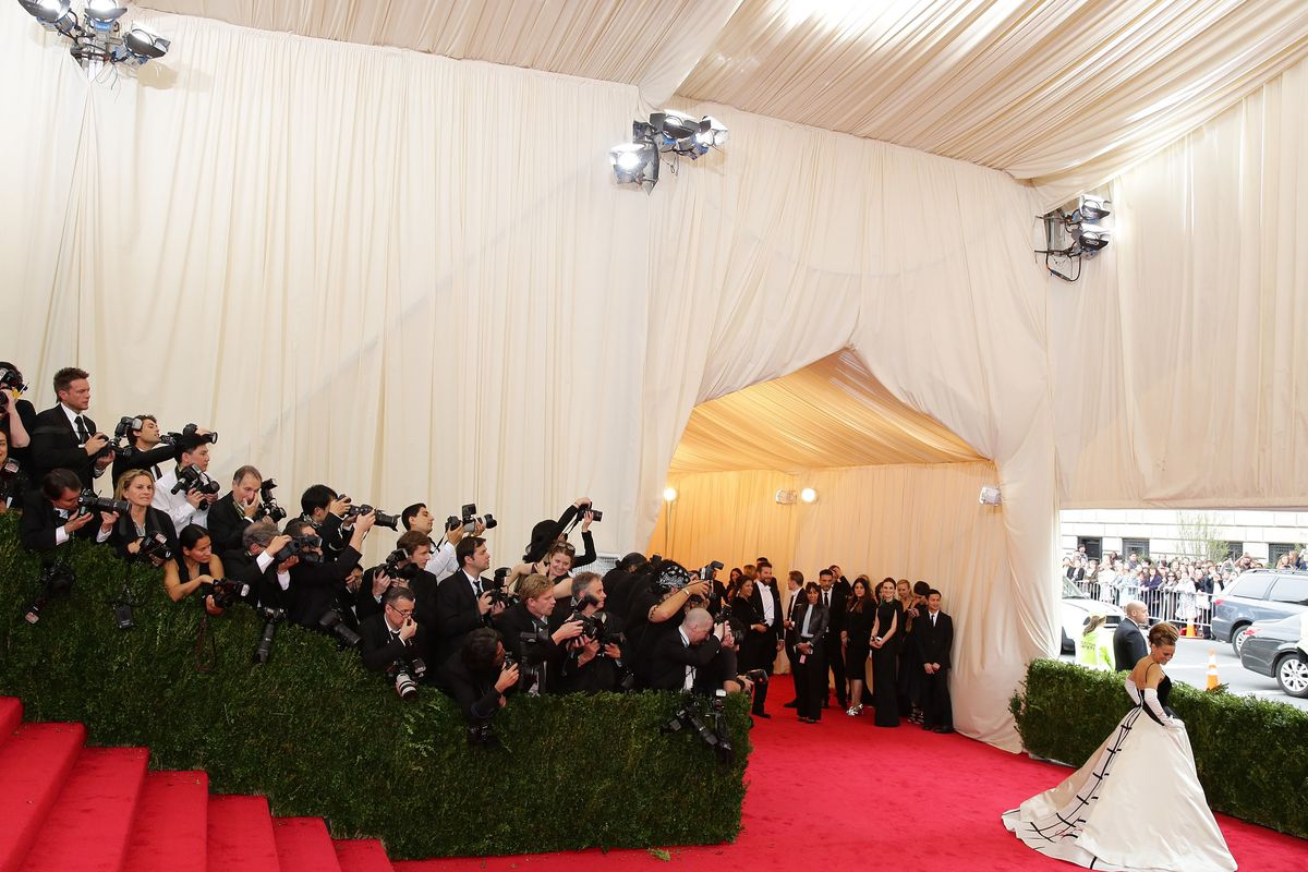 Last year's Met Ball. Photo: Getty Images