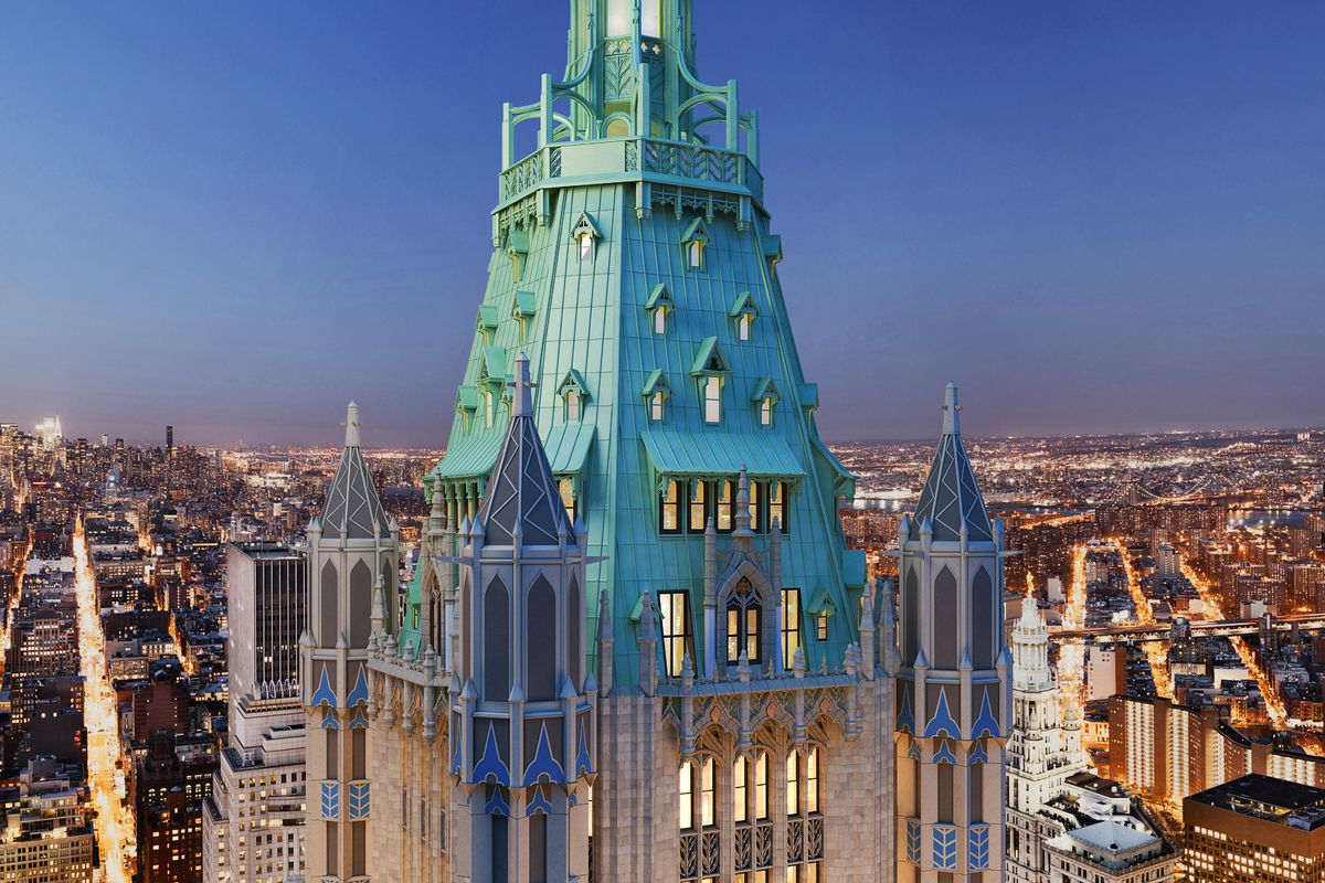 Woolworth Building\'s $110M penthouse finally hits the market - Curbed NY