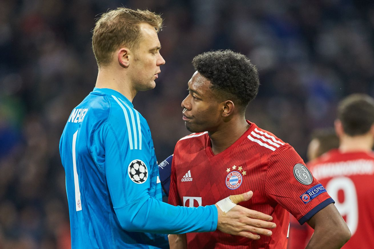 Manuel Neuer and David Alaba expect new signings to reinforce the squad