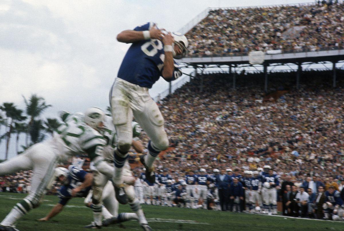 New York Jets v Baltimore Colts
