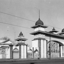 Riverview Park entrance, 1967.   Sun-Times Archives