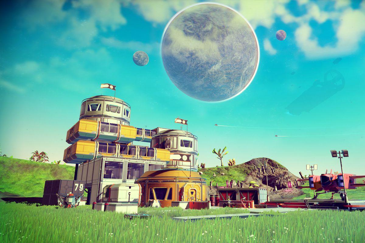 No Man's Sky Foundation Update planetary base