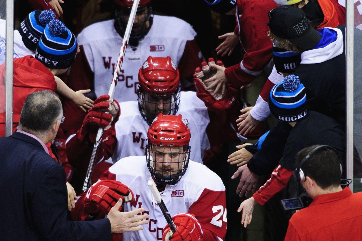 Boston College Hockey Vs Wisconsin Qa With Buckys 5th Quarter