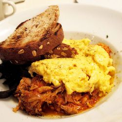 """Tinga de Pollo con Huevos from Whym by <a href=""""http://www.flickr.com/photos/wwny/8418805574/in/pool-eater/"""">wEnDaLicious</a>"""
